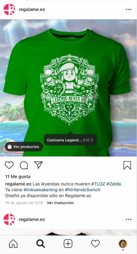 Imagen de ejemplo de Instagram